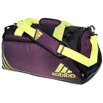 adidas Team Speed Small Duffel Bag, Tribe Purple/Glow