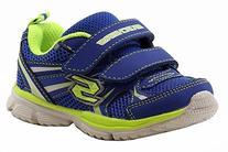 Skechers Kids 95083N Speedees - Burn Outs  Sneaker,Blue/Lime
