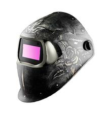 3M Speedglas Steel Rose Welding Helmet 100 with Auto-