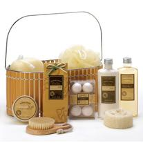 VERDUGO GIFT CO Warm Vanilla Spa Basket