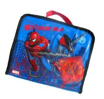 Spider-man Boys Insulated Lunchbox Bag Tote Blue
