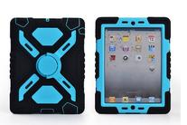 Pepkoo Spider-man Military Heavy Duty Case for Apple iPad