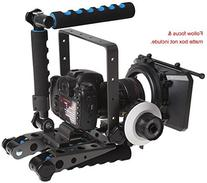 Morros DSLR Spider Rig DR-2 shoulder Mount Support Rig