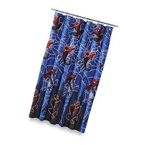 Marvel Spiderman Hero Microfiber Shower Curtain