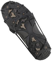 ICETrekkers Spikes Traction Cleats, Small , Black