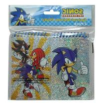 """Sonic the Hedgehog Pack of 2 Spiral Notebooks Memo Pads 3""""x5"""