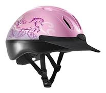 Troxel Spirit Graphic Dreamscape Helmet, Pink, Small