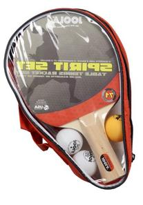 JOOLA Table Tennis Spirit Racket Set