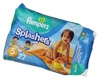 Pampers Splashers Disposable Swim Diapers, Size 3/4, 24