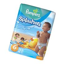 Pampers Splashers Swim Diapers, Size 6, 21 count