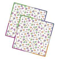 Mommy's Helper Splat Mat Plastic Floor Cover, Set of 2