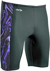 Dolfin Swimwear Aero Spliced Jammer - Purple Aer, 36