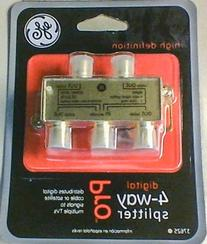 GE Digital 4-Way Splitter