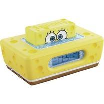 "Spongebob? Clock Radio with ""pop-up"" Snooze"