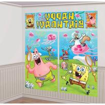 SpongeBob Scene Setter - Birthday and Theme Party Supplies