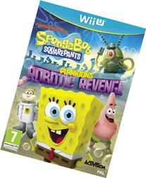 SpongeBob SquarePants Plankton's Robotic Revenge Nintendo