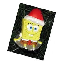 Nickelodeon Spongebob Squarepants Sledding on Toboggan