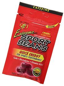 Jelly Belly Extreme Sport Beans Cherry Caffeine - 24 Pack