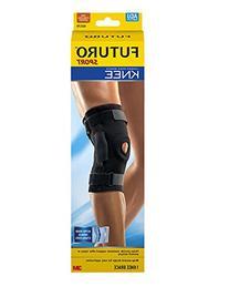 Futuro Hinged Knee Brace, Firm Stabilizing Support, Adjust