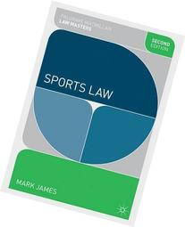 Sports Law  by James. Mark  Paperback
