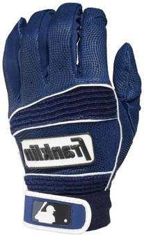 Franklin Sports MLB Neo Classic II Batting Gloves Pair, Navy