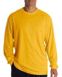 Badger Sportswear Men's Crewneck Performance T-Shirt, Gold,