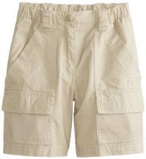 Columbia Boy's Half Moon Shorts , Fossil, Medium