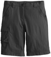 Columbia Boy's Silver Ridge III Shorts , Grill, Medium