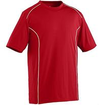 Augusta Sportswear MEN'S WINNING STREAK CREW L Red/White