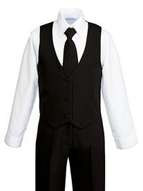 Spring Notion Boys' Formal Black Dress Suit Set 8