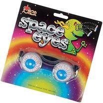 Loftus Adult Spring Space Eyes Bloodshot Eyeballs Glasses,