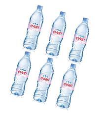 Evian Natural Spring Water 1.5 Liter Bottle