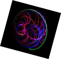 SpyroSpasm - Orbital Rave Light Toy - LED Orbit Spinning