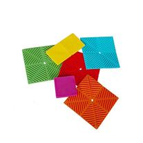 Marca west 6-Pack Square Multipurpose Silicone Pot Holders