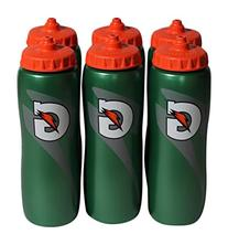 Gatorade 32 Oz Squeeze Water Sports Bottle - Value Pack of 6