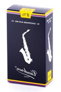 Vandoren SR2125 Alto Sax Traditional Reeds Strength 2.5; Box