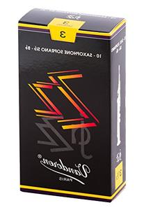 Vandoren SR403 Soprano Sax ZZ Reeds Strength 3; Box of 10