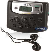 Sony SRF-M37 Walkman Portable AM/FM Radio Digital Tuner with