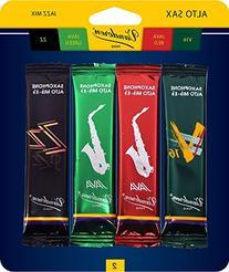 Vandoren SRMIXA2 Alto Sax Jazz Reed Mix Card includes 1 each