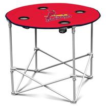 Logo Chair St Louis Cardinals Round Table 527-31