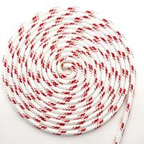 "25' of 3/8""  Sta-Set Red Fleck by New England Ropes"