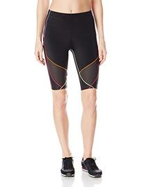 CW-X Stabilyx Ventilator Shorts, Black/Rainbow, Small