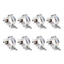 GBGS 8 Pack O-Clamp 2 Inch Lighting Mount for Stage Lighting