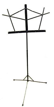 On Stage SM7122B Folding Music Stand, Black