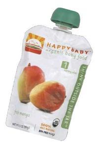 Happy Baby Stage1 Fresh Mangos Org