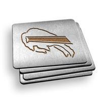 Sportula® 4 Inch Stainless Steel Boasters, Buffalo Bills