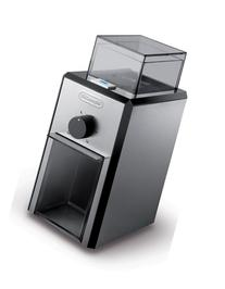 DeLonghi Stainless Steel Burr Coffee Grinder with Grind