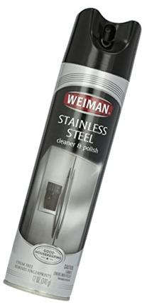 Weiman Stainless Steel Cleaner, 12 oz