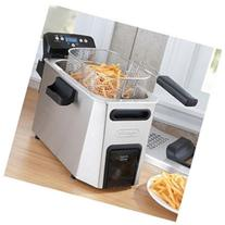DeLonghi PremiumFry D34528DZ Deep Fryer - 1.06 gal Oil / 3