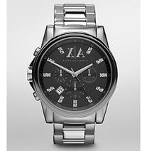 AX Armani Exchange Men's Stainless Steel Glitz Markers Watch